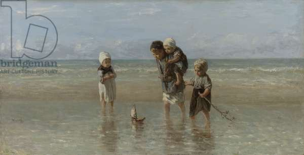 Children of the Sea, 1872 (oil on canvas)