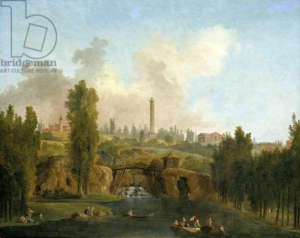 View of the Park of Méréville, c.1790 (oil on canvas)