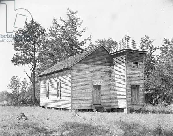 St. Matthew School in Alabama, 1936 (b/w photo)
