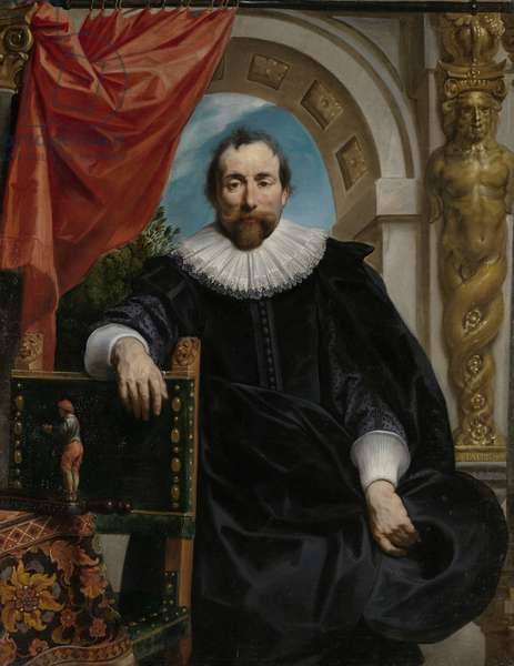Portrait of Rogier Le Witer, 1635 (oil on canvas)