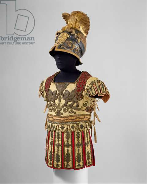 Costume Armor and Sword in the Classical Style, c.1788–90 (mixed media)