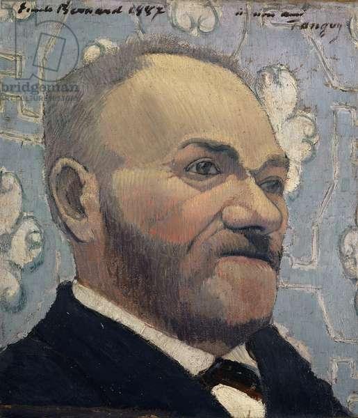 Portrait du Père Tanguy, 1887 (oil on canvas)