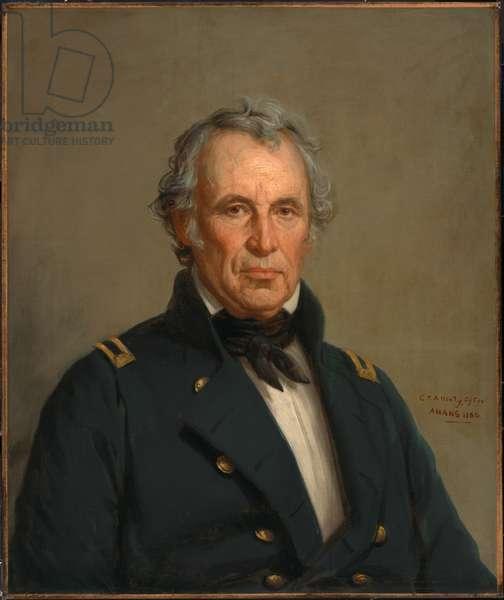 Zachary Taylor (1784-1850), 1860 (oil on canvas)
