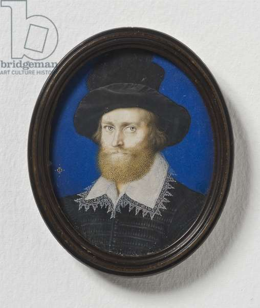 Admiral George Clifford, 3rd Earl of Cumberland, c.1600 (w/c on parchment)