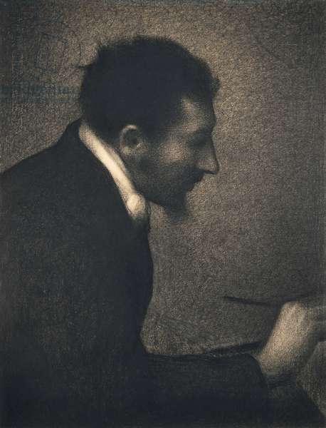 Aman-Jean, 1882-83 (conté crayon on Michallet paper)