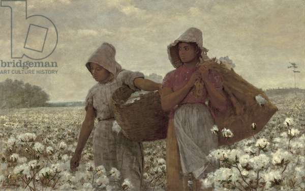 The Cotton Pickers, 1876 (oil on canvas)