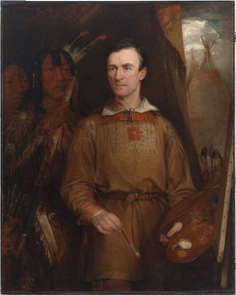 George Catlin (1796-1872), 1849 (oil on canvas)
