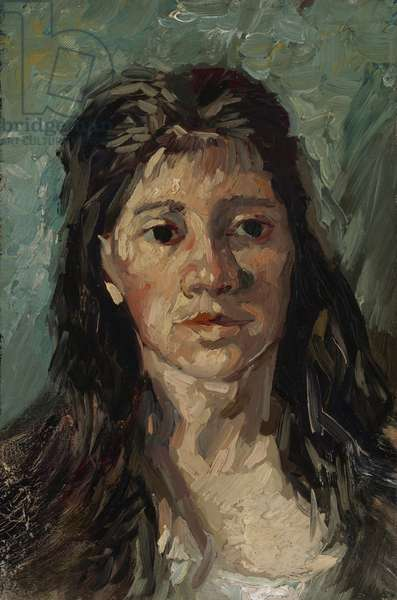 Head of a prostitute, 1885 (oil on canvas)