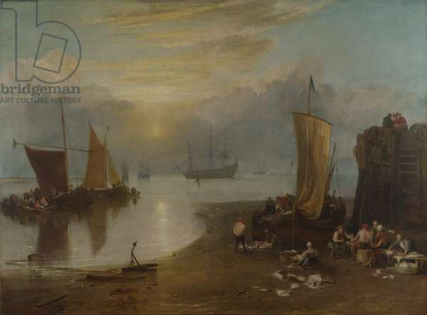 Sun Rising Through Vapour, c.1807 (oil on canvas)