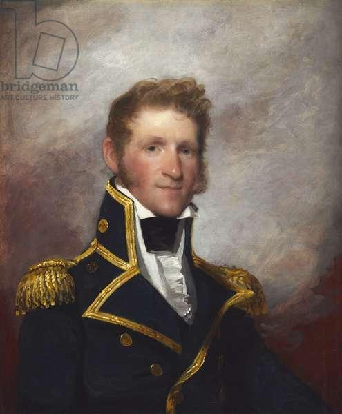 Commodore Thomas Macdonough, c.1815-8 (oil on wood)
