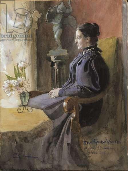 Eva Upmark, 1896 (w/c on paper)