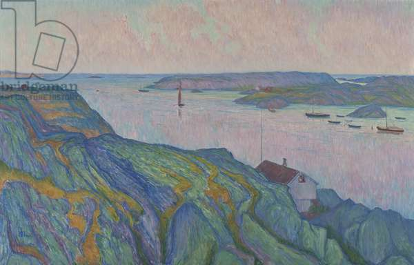 Kyrkesund, 1911 (oil on canvas)