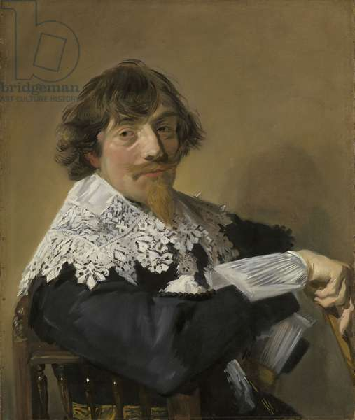 Portrait of a Man, c.1635 (oil on canvas)