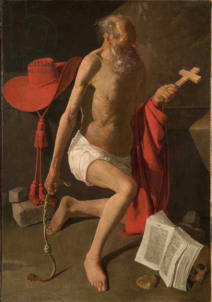 The Penitent St. Jerome (oil on canvas)