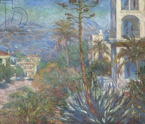 Villas at Bordighera, 1884 (oil on canvas)