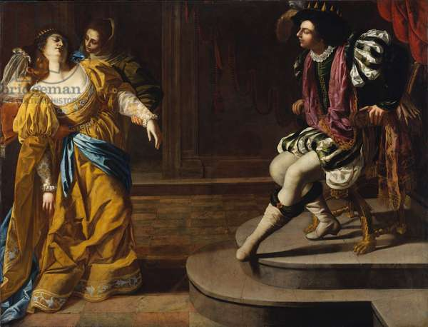 Esther before Ahasuerus, c.1630 (oil on canvas)