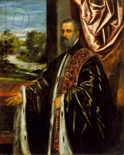 Portrait of Marino Grimani, 1578 (oil on canvas)