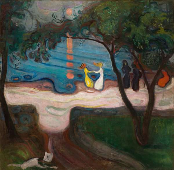 Dancing on a Shore, 1900 (oil on canvas)