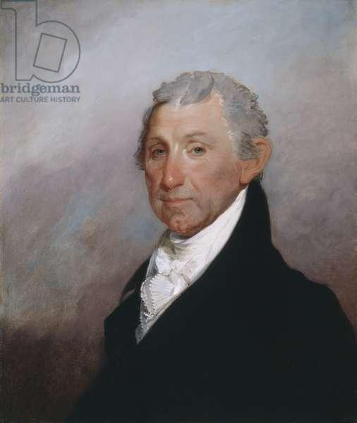 James Monroe, c.1817 (oil on wood)