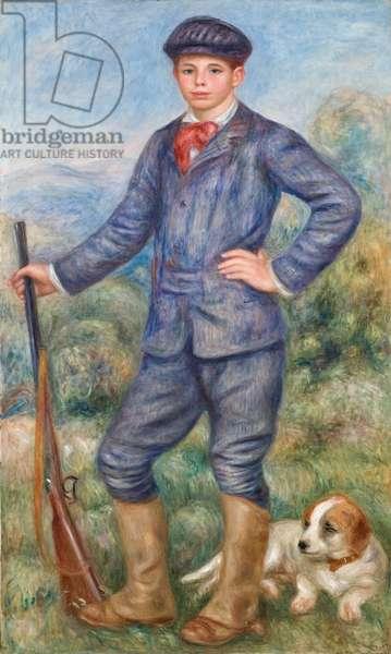 Jean as a Huntsman, 1910 (oil on canvas)