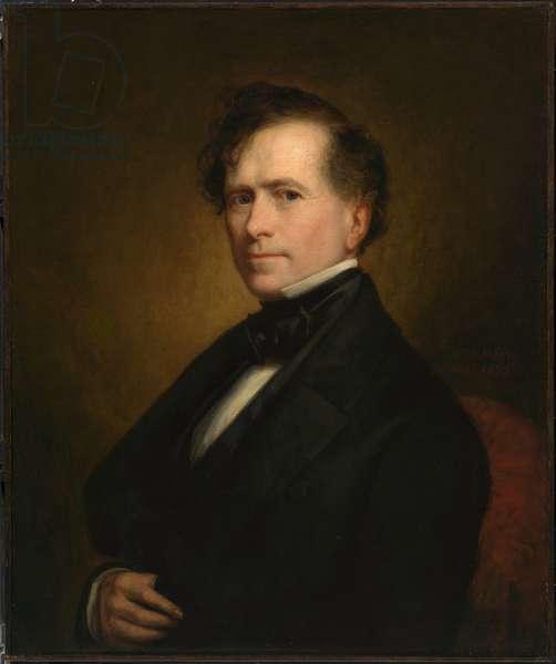 Franklin Pierce  (1804-1869), 1852 (oil on canvas)