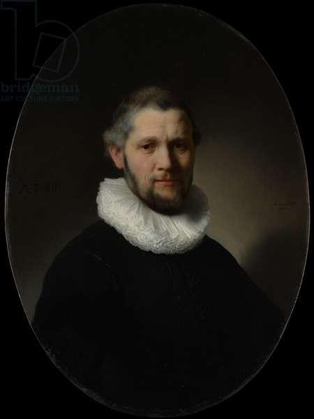 Portrait of a Man, 1632 (oil on wood)