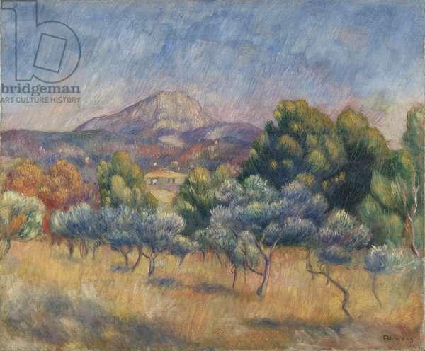 Mount of Sainte-Victoire, c.1888-89 (oil on canvas)