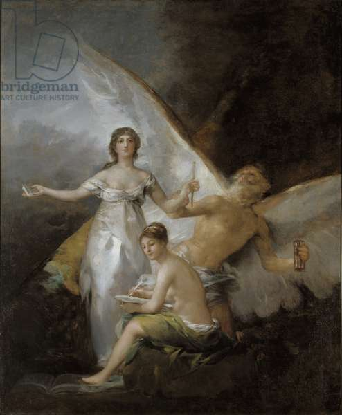 Truth, Time and History, 1804-08 (oil on canvas)