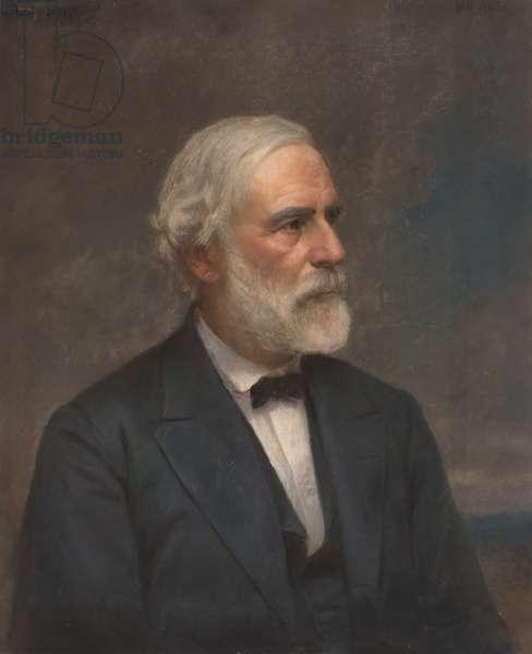 Robert Edward Lee (1807- 1870), 1871 (pastel on paper)