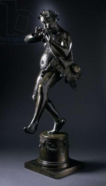 Silenus, c.1883 (bronze)