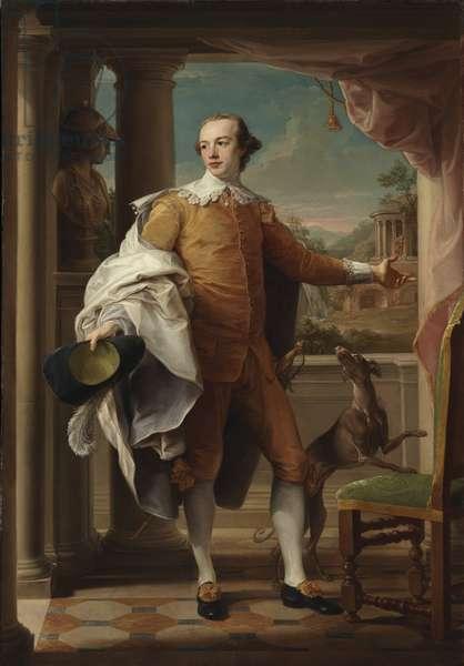 Portrait of Sir Wyndham Knatchbull-Wyndham, 1758-59 (oil on canvas)