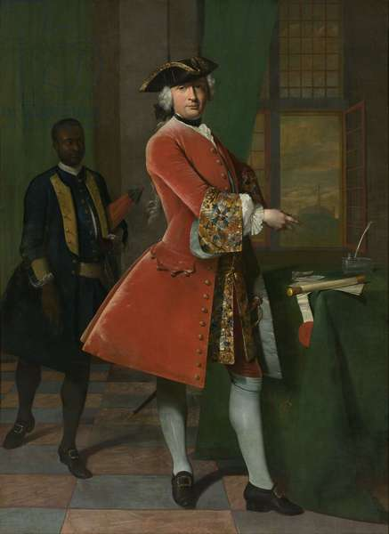 Portrait of Jan Pranger, 1742 (oil on canvas)