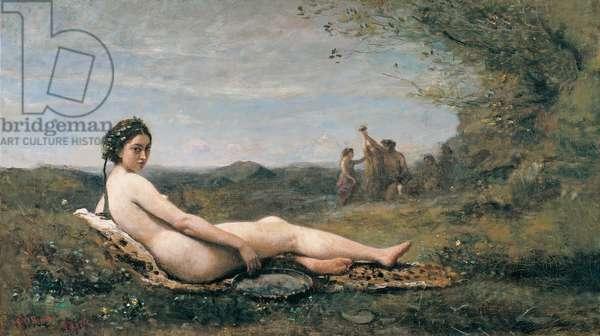 Repose, 1860 (oil on canvas)