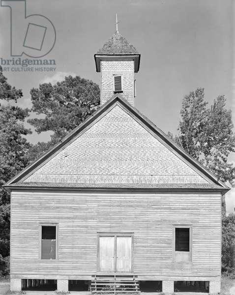 Church in the Southeastern U.S., c.1936 (b/w photo)
