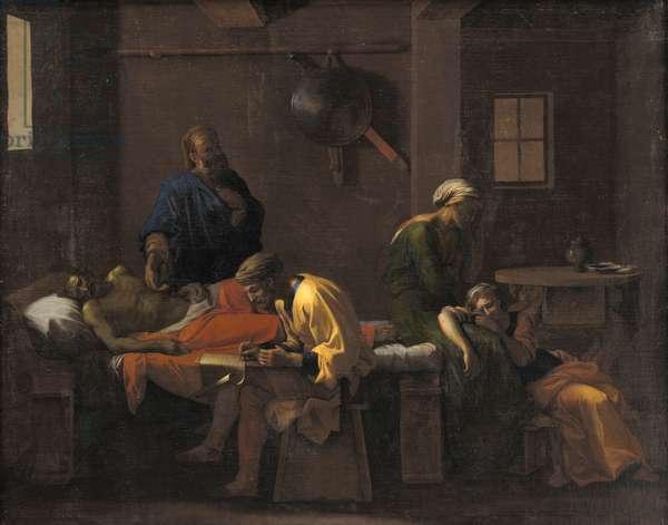 The Testament of Eudamidas, 1644-48 (oil on canvas)