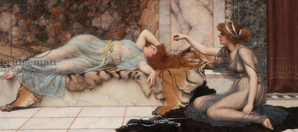 Mischief and Repose, 1895 (oil on canvas)