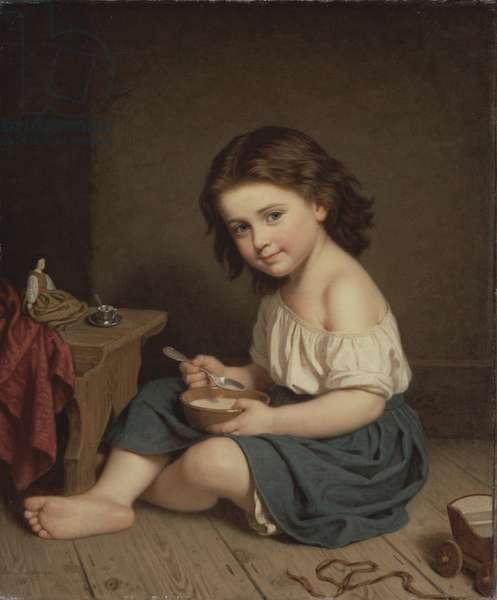 Breakfast, 1866 (oil on canvas)