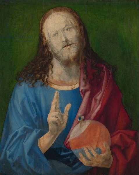 Salvator Mundi, c.1505 (oil on linden)