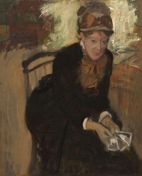 Mary Stevenson Cassatt (1844-1926), c.1880-84 (oil on canvas)
