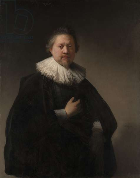 Portrait of a Man, probably a Member of the Van Beresteyn Family, 1633 (oil on canvas)
