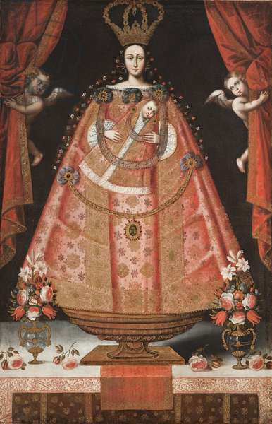 Virgin of Belén (Virgen de Belén), c.1700-1720 (oil on canvas)