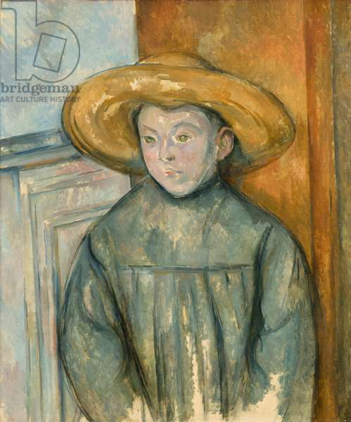 Boy with a Straw Hat, 1896 (oil on canvas)