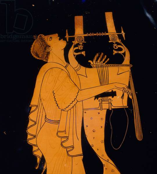 Amphora, late Archaic, c.490 B.C. (terracotta)