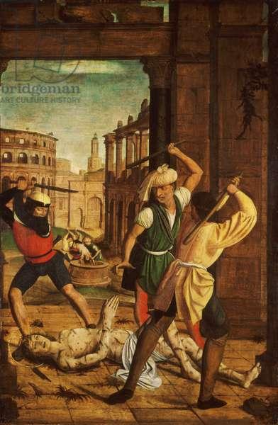 The Martyrdom of Saint Sebastian, c.1497 (oil on panel)