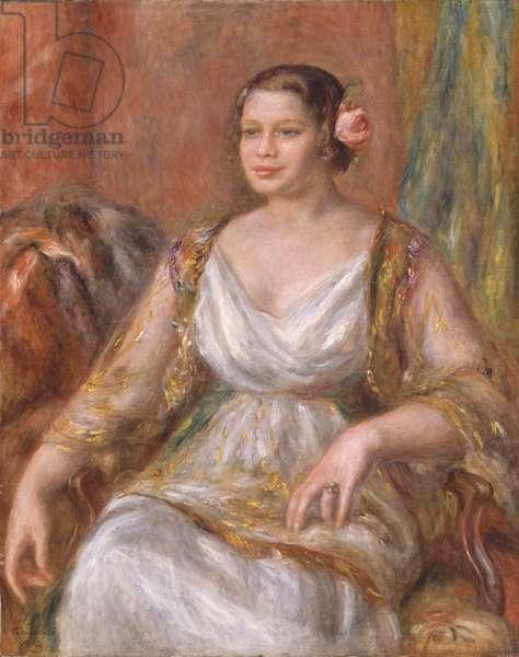 Tilla Durieux, 1914 (oil on canvas)