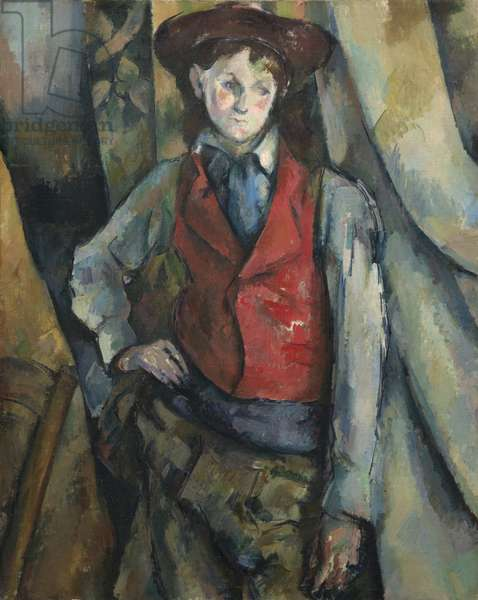 Boy in a Red Waistcoat, 1888-90 (oil on canvas)