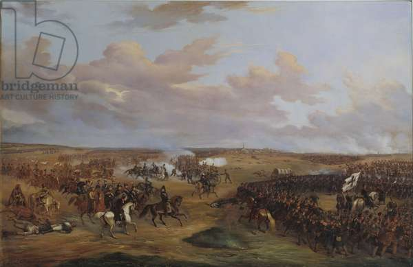 The Battle of Dennewitz, 6 September 1813, 1842 (oil on canvas)