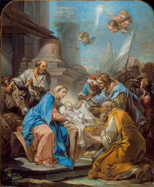 The Adoration of the Magi, c.1760 (oil on canvas)