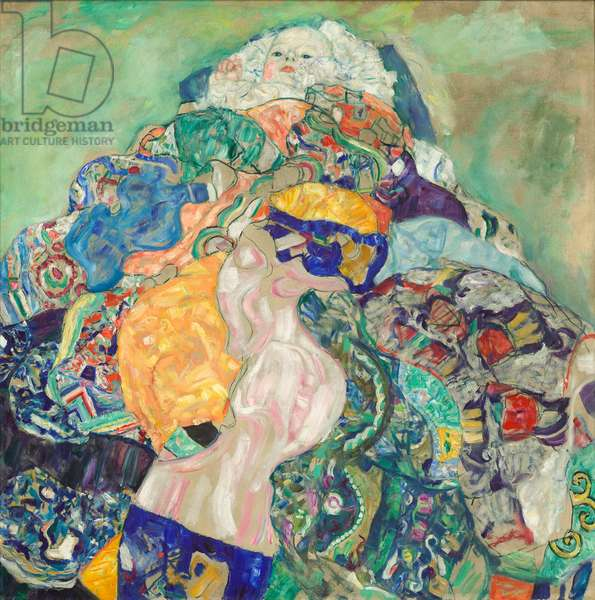 Baby (Cradle), 1917-18 (oil on canvas)