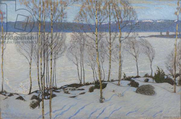 The Approach of Spring, 1903 (oil on canvas)